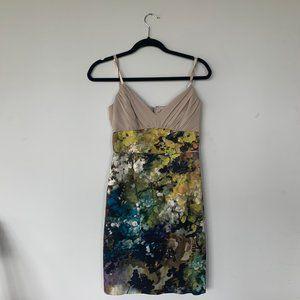 Black Halo | Painted Dress | Vintage